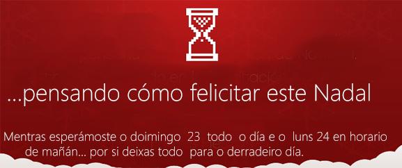 felicitación de nadal