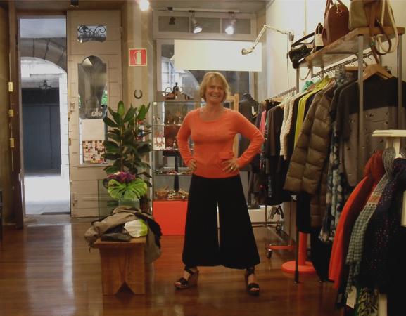 pantalón María Roch, top Nice Things- Bea