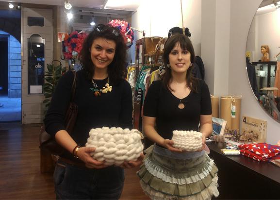 cestos-idoia cuesta-Zaloa y Patricia