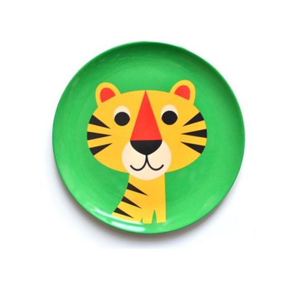 Decorar Un Plato De Tigre
