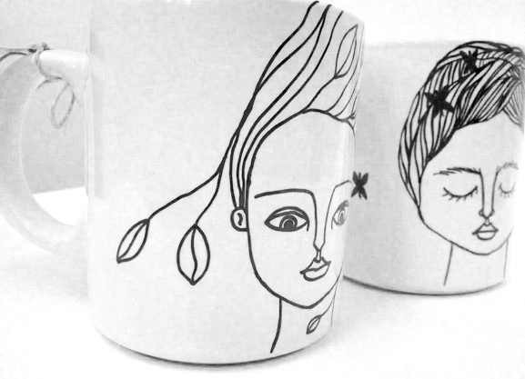 mugs-cavalinho do demo-mulleres