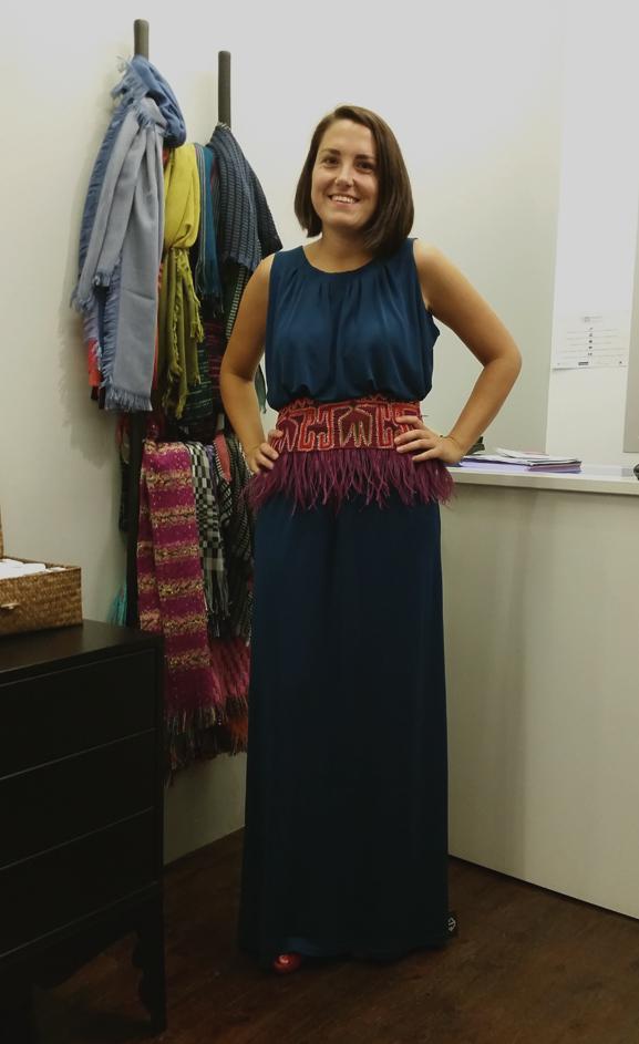 vestido-ElisaCortés&fajín-MónicaCordera