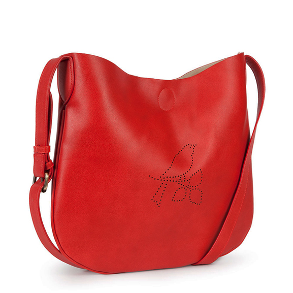 bolso troquel rojo-nice things
