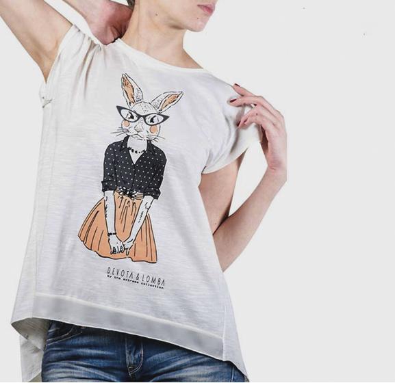 camiseta-devota& lomba-bunny girl