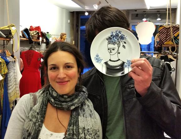 frida ilustración cerámica-cavalinho do demo