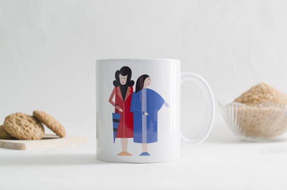 taza As Dúas Marías-Boh