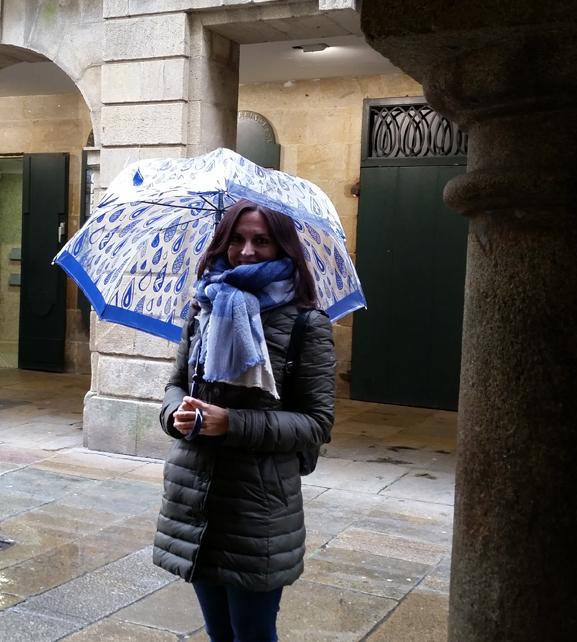 paraguas-Joy Heart-azulón