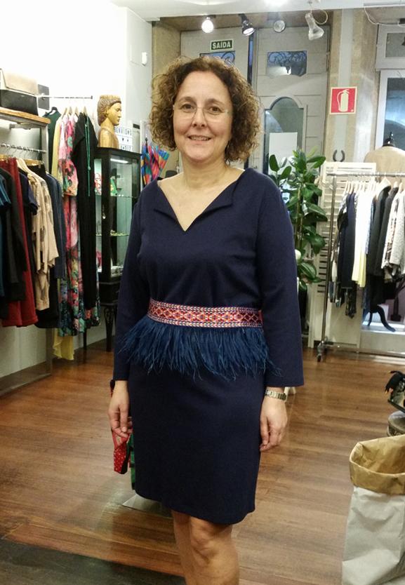 vestido-nathalie vleeschouwerr & fajín- mónica cordera