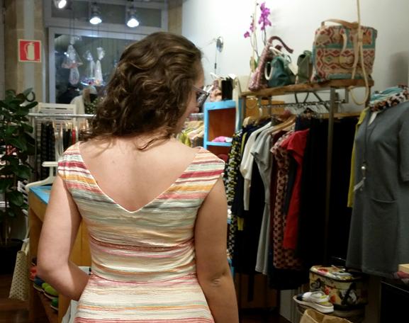 vestido-nathalie vleeschouwer rayas-escote