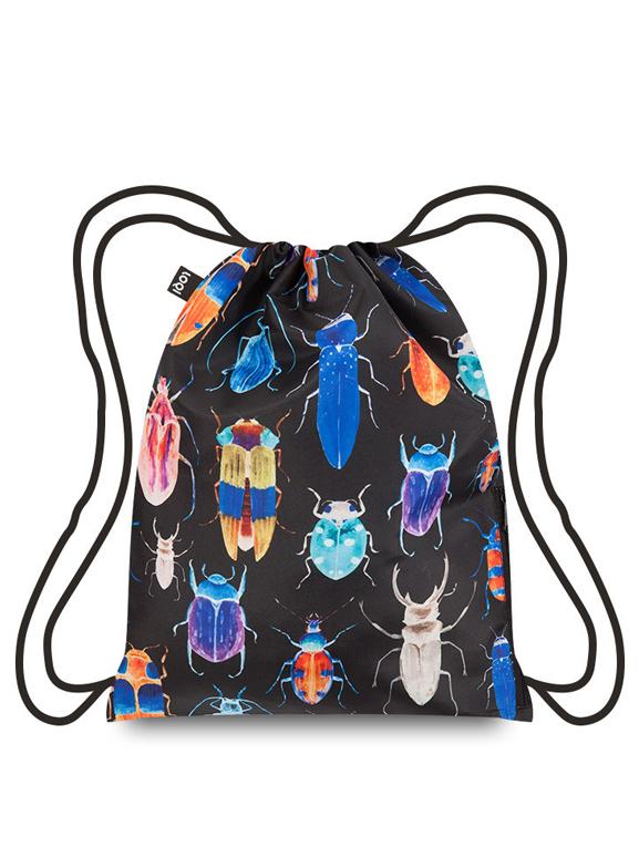 mochila- escaravellos