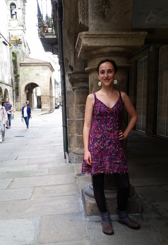 vestido curto-pé de chumbo 1