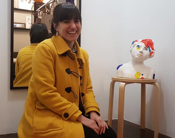 escultura-Iris Blanco