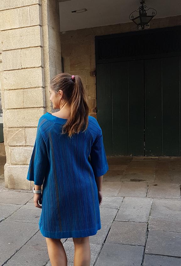 vestido-azul-texturas-nathalie vleeschouwer